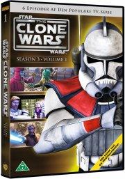 star wars: the clone wars - sæson 3 vol. 1 - DVD