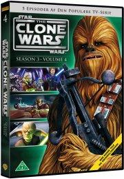 star wars: the clone wars - sæson 3 vol. 4 - DVD