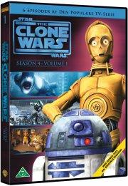 star wars: the clone wars - sæson 4 vol. 1 - DVD