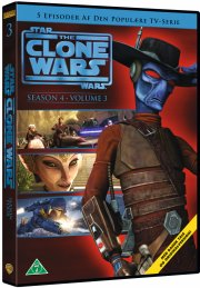 star wars: the clone wars - sæson 4 vol. 3 - DVD
