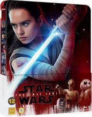 star wars: episode viii - the last jedi - limited steelbook edition - Blu-Ray