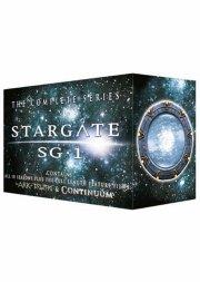 stargate sg:1 - sæson 1-10 + 2 film - DVD