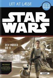 let at læse: star wars - rey møder bb-8  - Disney