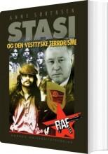 stasi og den vesttyske terrorisme - bog