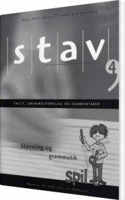 stav 4 - facit, løsningsforslag og kommentarer, 5. udgave - bog