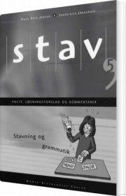 stav 5 - facit, løsningsforslag og kommentarer, 6. udgave - bog