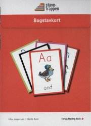stavetrappen, bogstavkort - bog