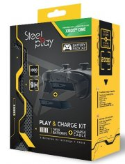 xbox one play and charge kit - steelplay - Konsoller Og Tilbehør