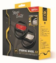 steelplay nintendo switch wheel / rat - 2 stk. - Konsoller Og Tilbehør