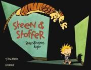 Billede af Steen & Stoffer 9: Spændingens Tiger - Bill Watterson - Tegneserie