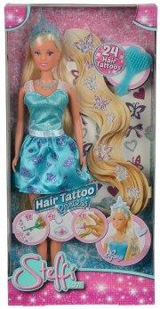 steffi love prinsesse dukke - hair tattoo princess - Dukker