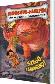 dinosaur-hjælpen - stegosaurussnot - bog