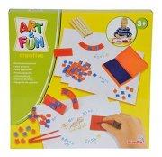 lege stempel sæt med bogstaver og tal - Kreativitet