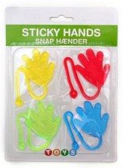 gummilegetøj - klistrende hænder - Diverse