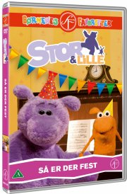 stor og lille 5 - så er der fest - DVD