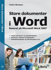 store dokumenter i word - bog
