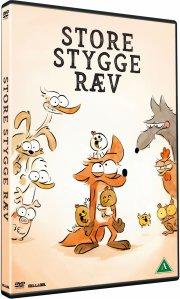 store stygge ræv / grand méchant renard - DVD