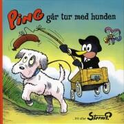 storm p. - ping går tur med hunden - bog