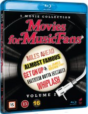 straight outta compton // whiplash // almost famous // miles ahead // get on up: the james brown story - Blu-Ray