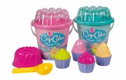 strandsæt - cupcake - blå/lyserød - Udendørs Leg