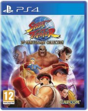 street fighter: 30th anniversary collection (nordic) - PS4