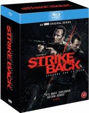 strike back - sæson 1-4 - hbo - Blu-Ray