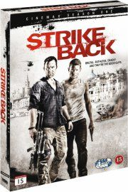 strike back - sæson 1 - hbo - DVD