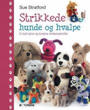 strikkede hunde og hvalpe - bog