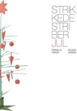strikkede striber, jul - bog
