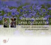 strikkeopskrifter i linea og laura hør - bog