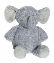 strikket bamse elefant - Bamser