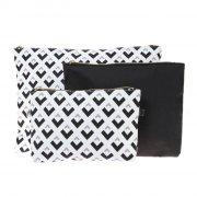 studio clutch taske - 3 stk. - Smykker Og Accessories