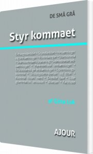 styr kommaet - bog