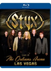 styx live at the orleans arena las vegas - Blu-Ray