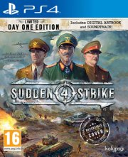 sudden strike 4: limited day one edition - PS4