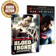 blood and bone // man of steel - DVD