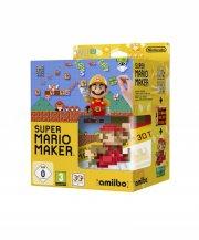 super mario maker + artbook + amiibo (bundle) - wii u