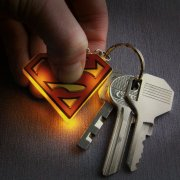 superman nøglering med lys - Merchandise