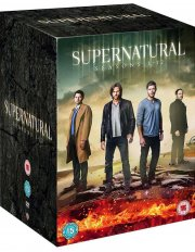 supernatural - sæson 1-12 - DVD