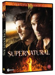 supernatural - sæson 10 - DVD