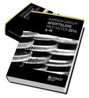supplement til karnov group skatte- og afgiftslove 2016 - bog