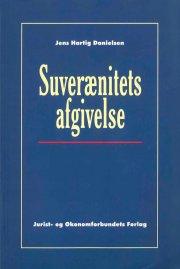 suverænitetsafgivelse - bog