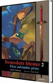 sværdets mester 2 - den udstødte prins - bog