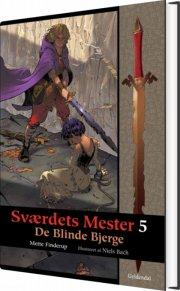 sværdets mester 5 - de blinde bjerge - bog
