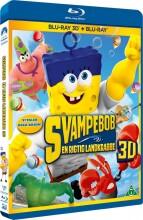 svampebob / spongebob squarepants en rigtig landkrabbe - 3D Blu-Ray