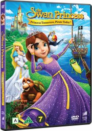 svaneprinsessen / the swan princess 6: prinsesse i morgen, pirat i dag! - DVD