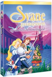 svaneprinsessen / the swan princess og slottets hemmelighed - DVD