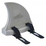 swimfin - lys varm grå - svømmebælte til børn - Bade Og Strandlegetøj