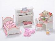 sylvanian families møbler til pigeværelse - Dukker