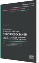synopsiseksamen og andre mundtlige eksamensformer med skriftligt materiale - bog